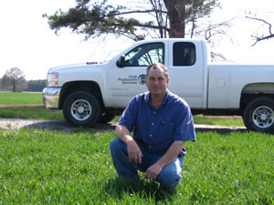Crop Consultant Charles Rogister