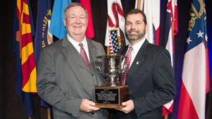 Mark Lange Honored with NCC Cotton Service Award