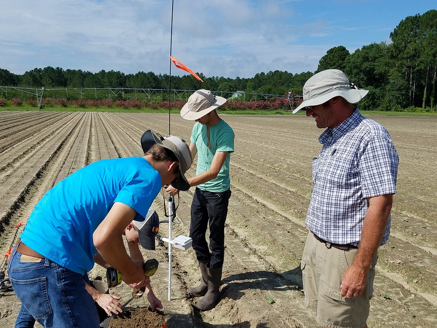 Georgia Extension Testing Agricultural Water Use