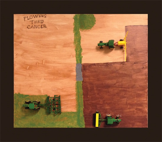 Plow Thru Cancer With Me, Won't You?