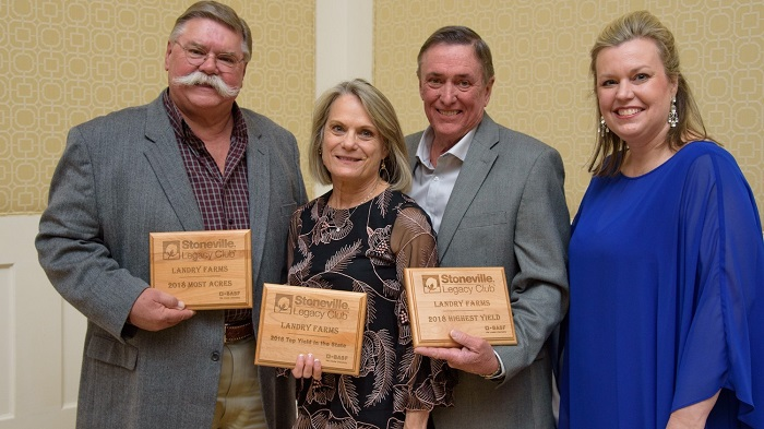 BASF Recognizes Stoneville Legacy Club Growers for High Yields