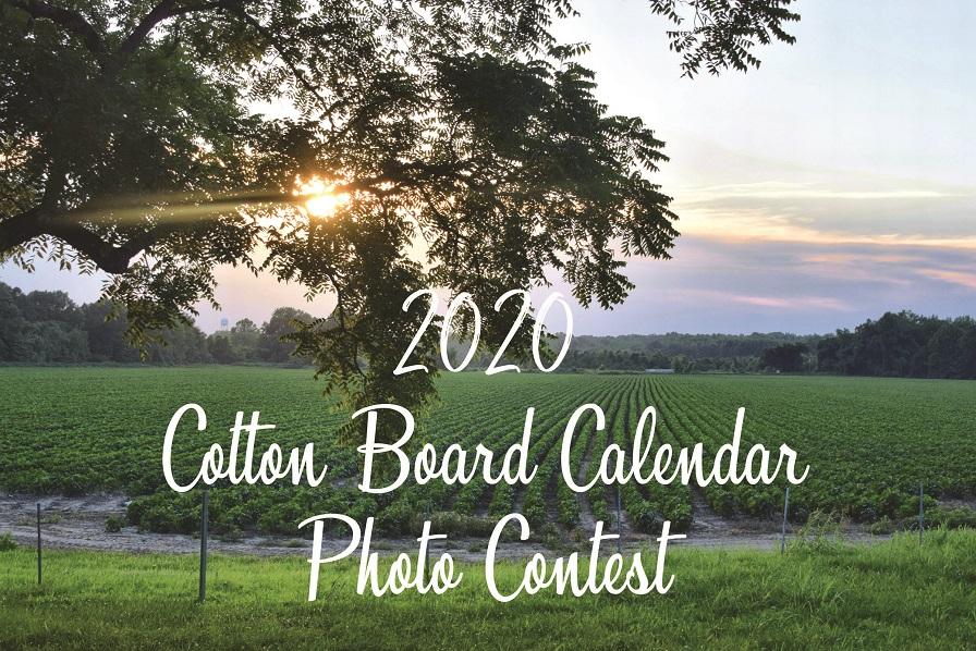 Cotton Board Begins 2020 Calendar Photo Contest