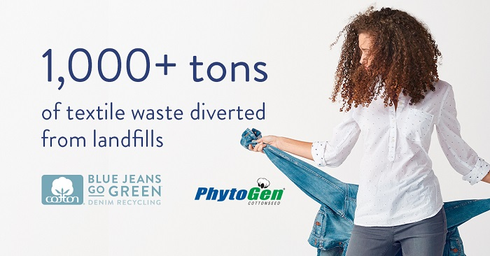 Blue Jeans Go Green/PhytoGen Partnership Renewed for 2020